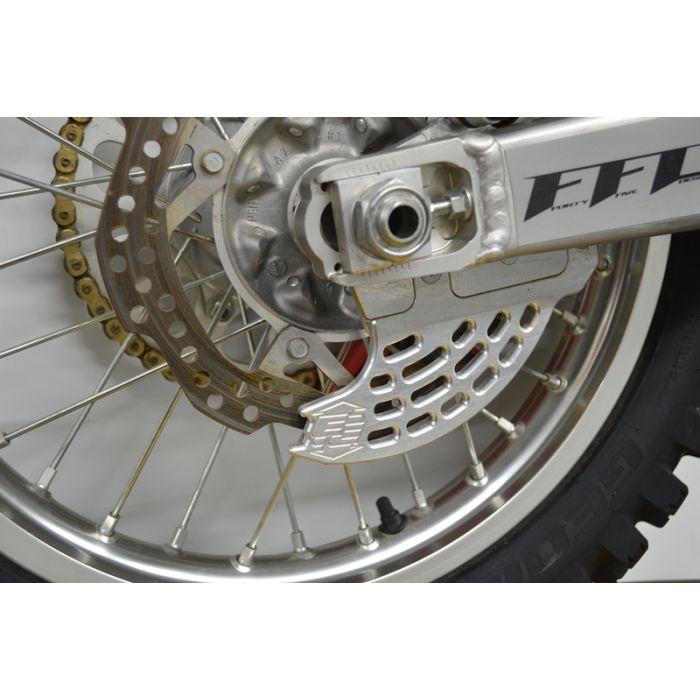 Devol Rear Disc Guard Aluminum for Honda CR CRF 125 250 450 02-8